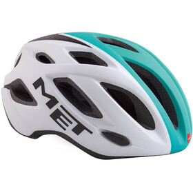 MET Idolo Helm white shaded mint green